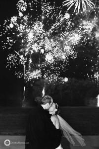 Devon Wedding fireworks